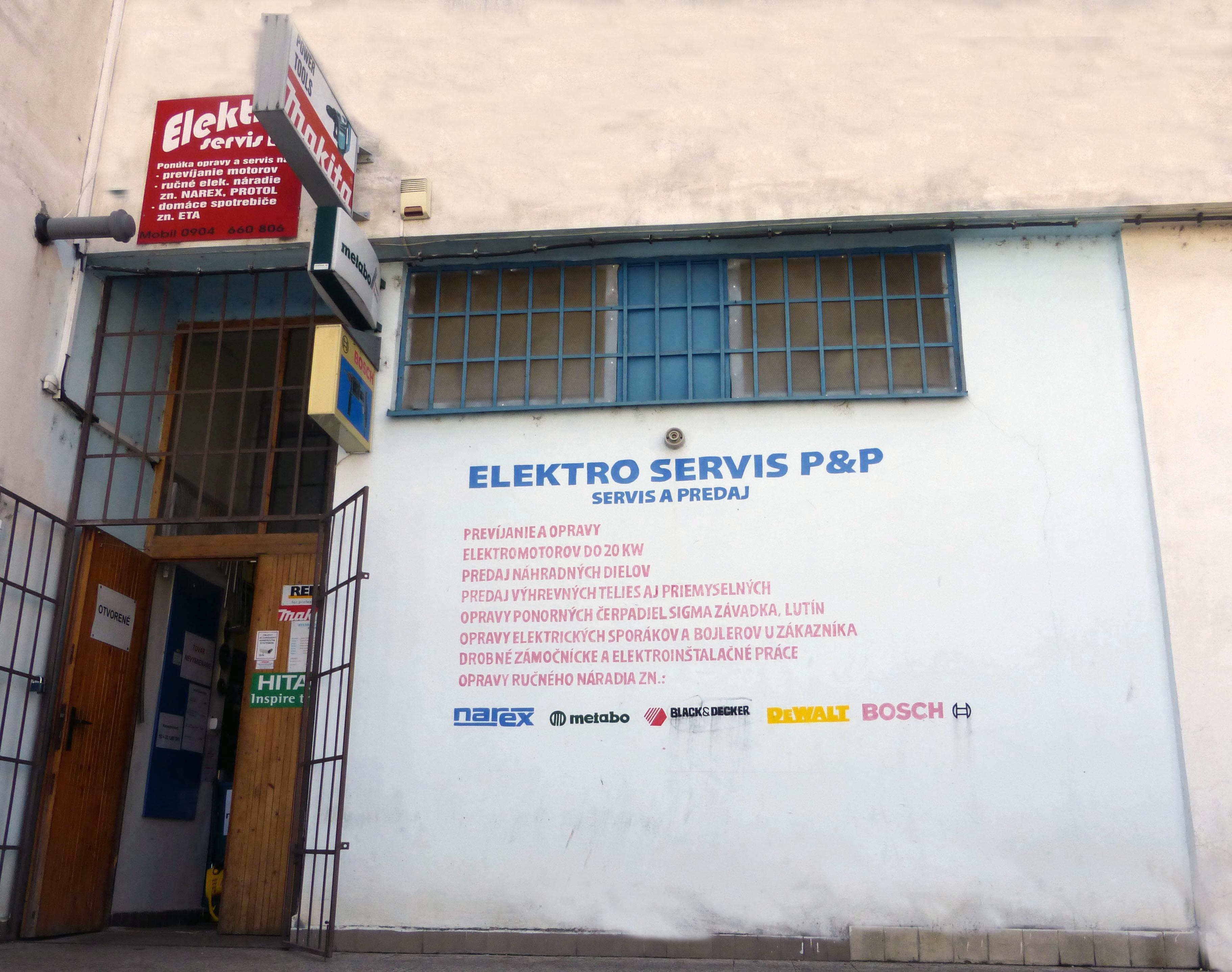 Elektroservis P&P